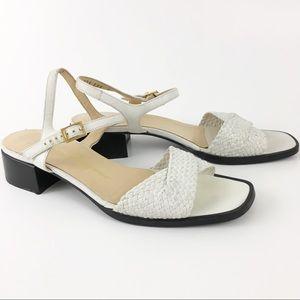 Vintage Salvatore Ferragamo Sandals Size 8.5B